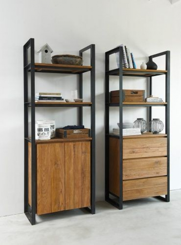Industrial Cabinet  (2 pieces)