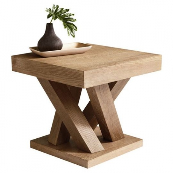 Wood Side Table 2 (NST-113)
