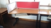 USED โต๊ะทำงาน Modern Form Office Desk
